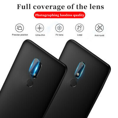 For Meizu M9 M8 M6 M5 Note 2Pcs Back Camera Lens Screen Protector Tempered Glass