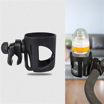 Baby Stroller Pram Cup Holder Universal Bottle Drink Water Coffee Bike Bag ZT