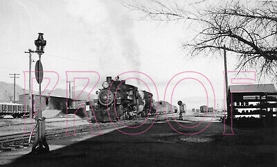 Southern Pacific Narrow Gauge Engines 1 /& 9 with Baggage Car 401-8x10 Photo