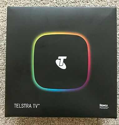 Telstra TV Powered by Roku 4200TL Black : BRAND NEW
