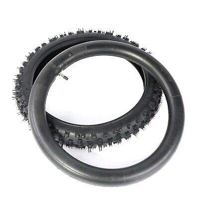 "70/100-17 17 "" Knobby Front Tire Tube 4 Motocross Trail Pit Dirt Bike Tire KTM"