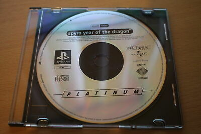 Spyro - Year of the Dragon (PS1) [PAL] - WITH WARRANTY -