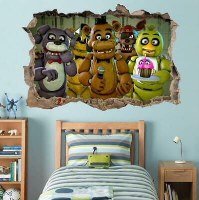 FNAF FIVE NIGHTS At Freddy's Wall Stickers Decal Art Decor