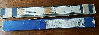 Draughtsman's and Surveyor's Sets Card Scales
