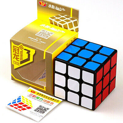 Super Smooth Magic Cube 3x3x3 Fast Speed Rubik Puzzle Rubics Rubix