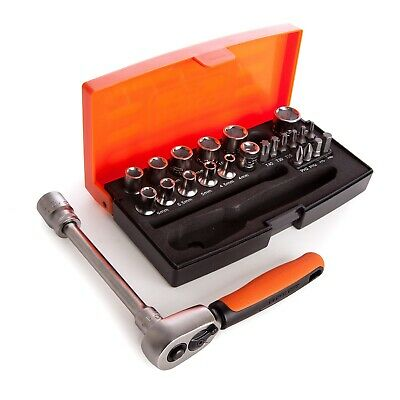 "Bahco  SL25 25 piece socket set 1/4"" drive"