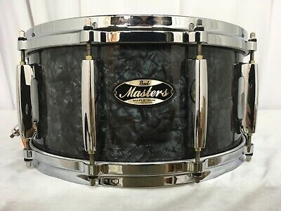 """Pearl Masters MMG 14"""" Snare Drum/Black Diamond Pearl/#421/Maple-Gum Shell/NEW"""
