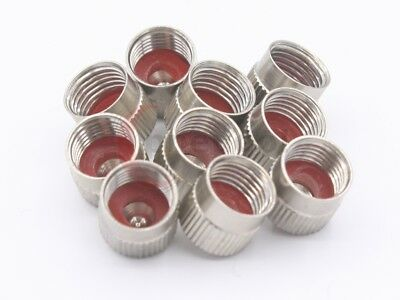 Metallventilkappen Valve Caps 10 Pcs VG8 Caps Car Metal with Seal