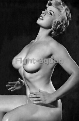 Picture Photo Erotic antique vintage art nude big breasts amazing woman 3393