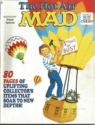 """Australian """"Mad - Hot Air  Super Special"""" # 63  !!! FREE POSTAGE !!!"""