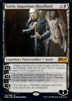 Sorin, Imperious Bloodlord - MTG Core Set 2020 - NEW