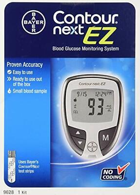 NEW KIT - Contour Next EZ Blood Glucose Monitoring System ***FREE SHIPPING***