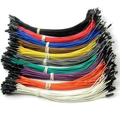 Pin Header Dupont Wire Color Jumper Male to Female For 20cm Cable Y9G4