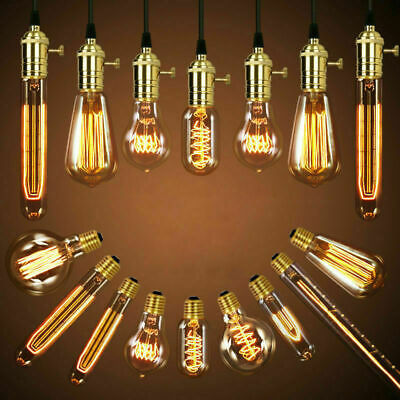 Vintage Filament 40W Edison Bulb Dimmable E27 Decorative Industrial Light New