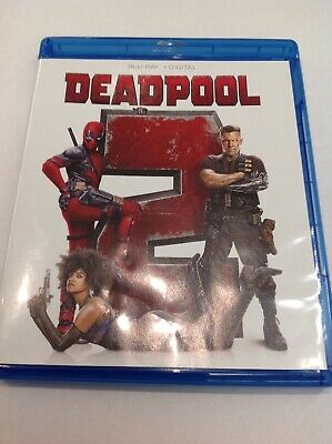 DEADPOOL 2 (Blu-ray, 2018, NO Digital) **LIKE NEW** TESTED WORKS GREAT