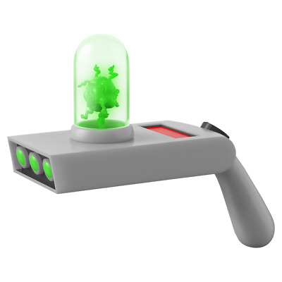 Rick and Morty - Portal Gun Life-Size Electronic Prop Replica - Loot - BRAND NEW