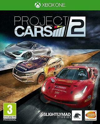 Project Cars 2 - Xbox One Game - UK PAL - New/Sealed - Fast 1st Class Delivery