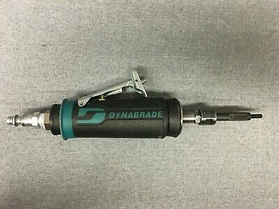 Used, Dynabrade 48327 Straight Line Pneumatic 30,000 Rpm Die Grinder-