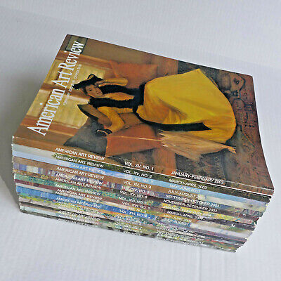 American Art Review Magazine ~ Lot of 17 Issues ~ Various 2003-2013
