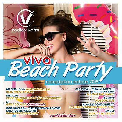 Compilation - Viva Beach Party Estate 2019 - Cd
