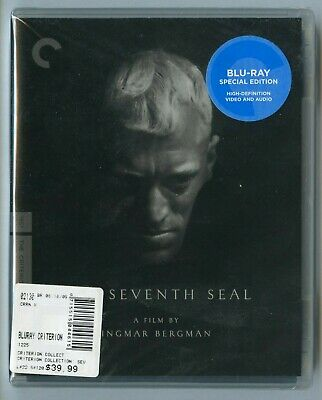 Criterion THE SEVENTH SEAL Blu-ray NEW!  Ingmar Bergman  Max von Sydow