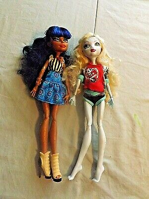 2  Monster High Doll Lot