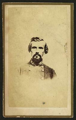Nathan Bedford Forrest,CSA General,Confederate soldiers,military officers,1863