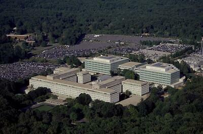 Aerial View,CIA Headquarters,Langley,Virginia,VA,Central Intelligence Agency 1