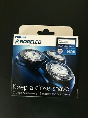 *New* Philips Norelco HQ8 HQ 8 Dual Precision Shaver Replacement Heads