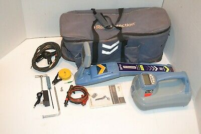 WARRANTY RADIODETECTION SPX RD8000 PDL T10 PIPE CABLE FAULT LOCATOR w/ CENTROS