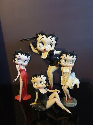 Betty Boop figurine's. Four figurines all in perfect condition.