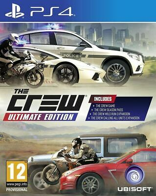 The Crew Ultimate Edition - PS4 Game - UK PAL - New/Sealed - Fast 1st Delivery