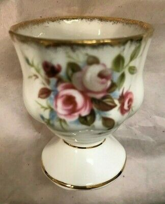 "Royal Albert ""Cottage Garden"" ~ Bone China Single Egg Cup ~ English ~ Mint Cond."