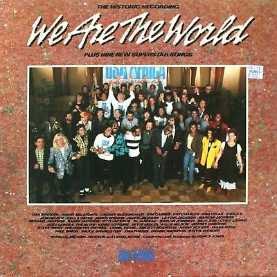 USA FOR AFRICA - We are the World LP Michael Jackson, Prince