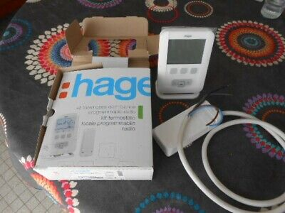 thermostat d'ambiance hager