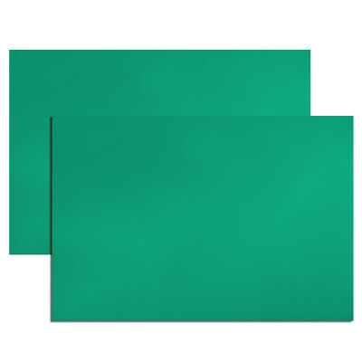"""2Pcs Dry Erase  Magnetic Strip 11.7"""" x 8"""" Labels Stickers Writable Green"""