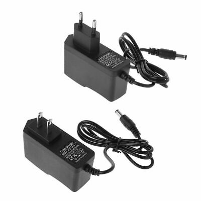 12.6V 1A Lithium Battery 18650/Polymer Battery Pack 100-240V 5.5x 2.1MM Charger