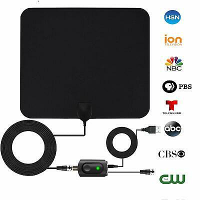 Digital Tv Antenna For Indoor - Hdtv Antenna With Amplifier Signal Booster For 4