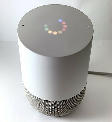 GOOGLE HOME Smart Assistant - White Slate - Excellent Condition