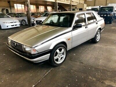 1986 Alfa Romeo 75 2.5 V6 RWD Manual Sedan may swap