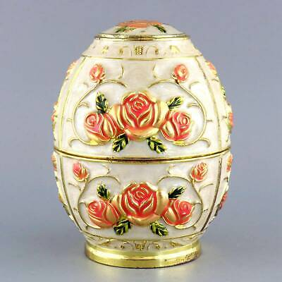 Collect China Old Cloisonne Hand-Carved Blooming Flower Delicate Toothpick Box