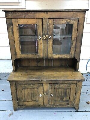 Antique Salesman Sample/ Child's Cupboard American Country