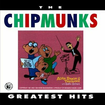 Chipmunks - Greatest Hits - Chipmunks CD 57VG The Cheap Fast Free Post The Cheap