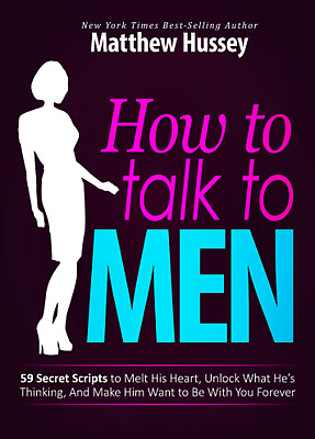 How to Talk to Men by Matthew Hussey Only P.D.F Email Fast Free Delivery
