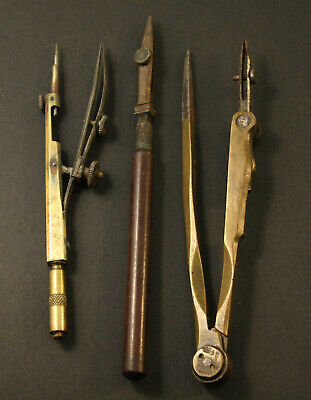Vintage or Antique Drawing/Drafting Instruments and Ruling Pen.