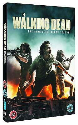 The Walking Dead Season 8 DVD Region 2 New & Sealed Free and Fast Delivery UK