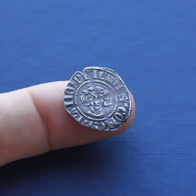 Hammered Silver Coin Continental Sterling Unresearched c 13th Century AD