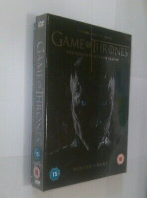 Game Of Thrones: The Complete Seventh Season/Conquest & Rebellion DVD Boxset