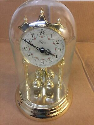 Vintage Elgin 400 Day Anniversary Clock Haller Made in Germany