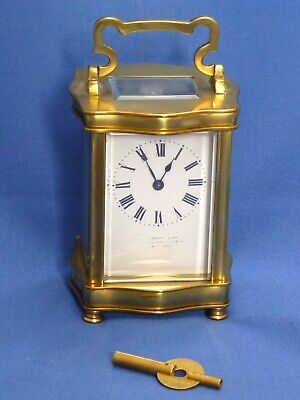 Elegant Edwardian Carriage Clock in Excellent Working Order.